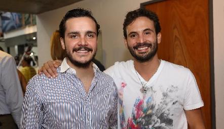 Miguel Ángel Quero y Efraín Barrera.