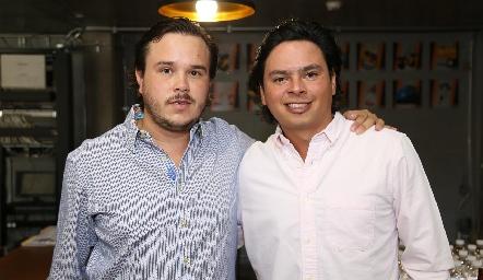 Abraham Gallegos y Barra Meade.