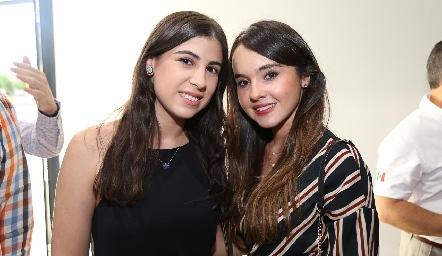 Melissa Fernández y Camila Duque .
