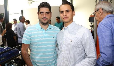 Rafael Reverte y Ricardo Andrés.