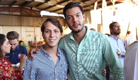 Jorge Del Valle y Juan Carlos Magdaleno.
