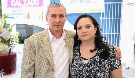 Martin Arias y Lina del Carmen Juárez .