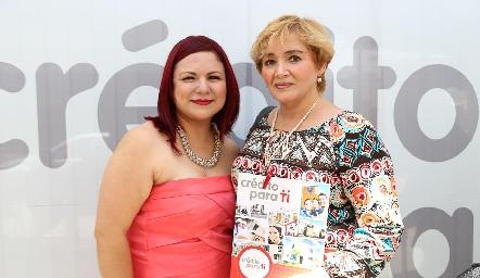 Karla Ramos y Cristina García.