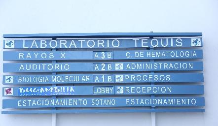 Inauguración de Laboratorio Tequis. Inauguración de Laboratorio Tequis