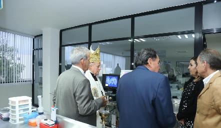 Inauguración de Laboratorio Tequis.