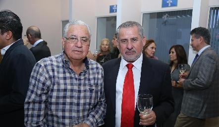 Javier Ramírez y Ricardo Sánchez.
