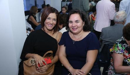 Verónica Soto y Samanta Coss.