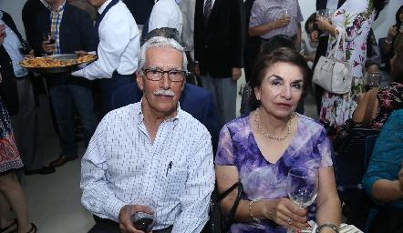 Juan Manuel Arévalo y Delia Margarita.