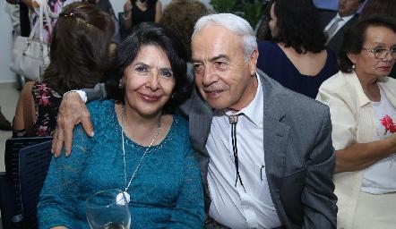Cecilia y Manuel González.