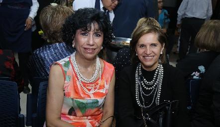 Elsa Martínez y Dolores Lastras.