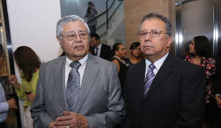 Jaime Belmares y Miguel Ángel Santos.