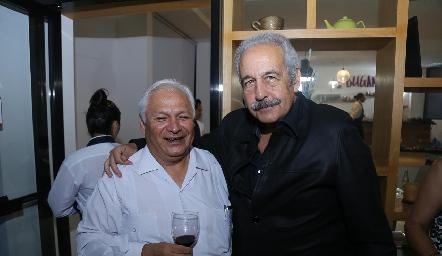 David González y Jesús Díaz Infante.