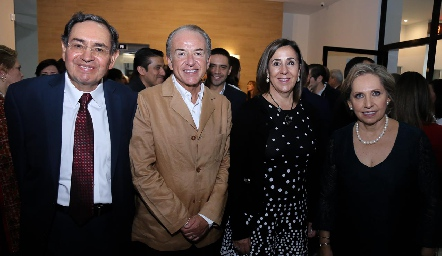 Jesús Rosillo, Juan Manuel Carreras, Lorena Valle y Mercedes Lastras.