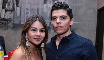 Lorena Navarrete y Guillermo Camacho.