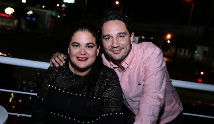 Karina Pérez y Juan José Romero.
