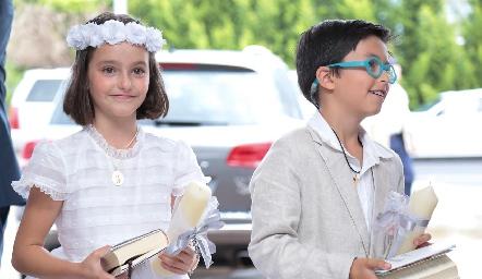 Marina y Marcelo Galán Valladares.