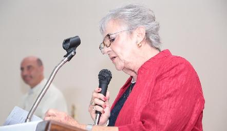 Raquel Bárcena.