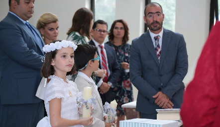 Primera Comunión de Marina y Marcelo .
