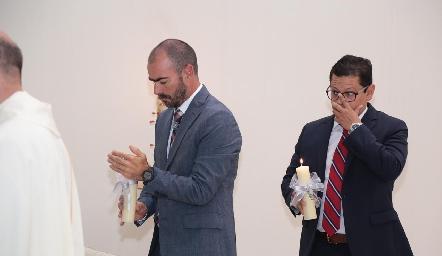 Manuel González y Checo Quibrera.