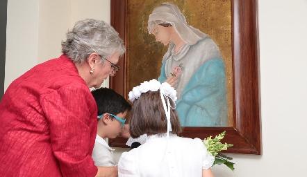 Consagración a la Virgen María.