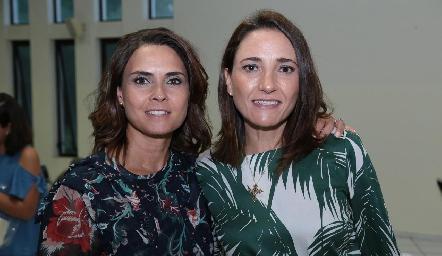 Fernanda Félix y María José Abaroa.