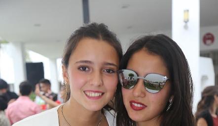 Cristina Nava y María Alcalde.