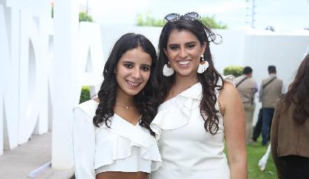 Daniela Navarro y Cassandra Nava.