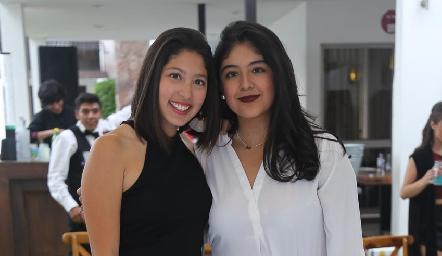 Fer Martínez e Isabela Martínez.