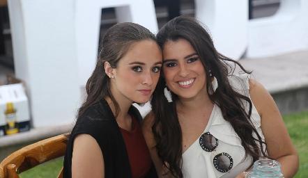 Daniela Zermeño y Cassandra Nava.
