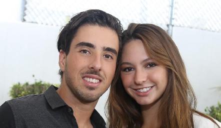 Alejandro Navarro y Ale Alessi.
