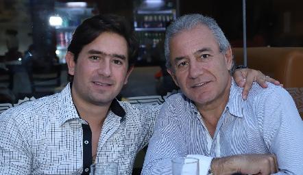Fernando y Fernando Abud.