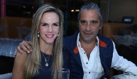 Elsa Páez y Juan Antonio Reverte.