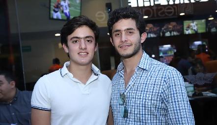 Rodrigo y Julián Abud.