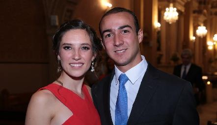 Valeria Rangel y Alejandro Villalobos.