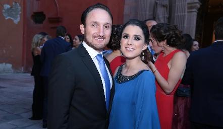 Fernando Rangel y Erika Ríos.