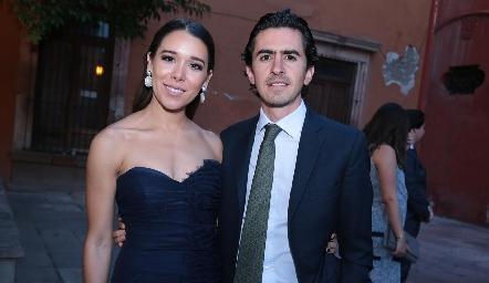 Michelle Cano y Memo Gómez.