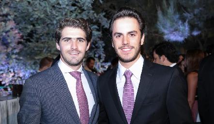 Gerardo Gómez y Marcelo Alcocer.