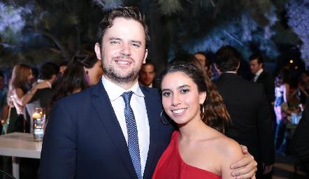 Juan Autrique y Paola Córdova.
