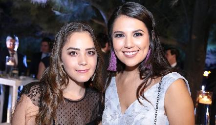 Bárbara Mahbub y Diana Villanueva.