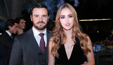 Luis Antonio Mahbub y Vero Sojo.