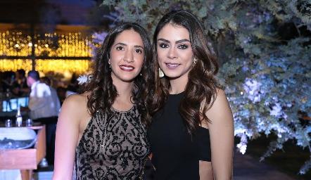 Marisa Espínolo y Pau Rodríguez.