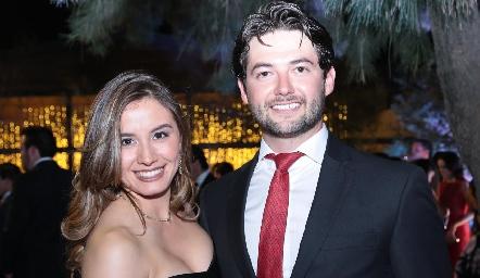 Brenda Magaña y Oscar Rangel.