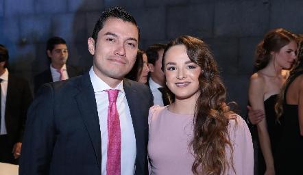 Alejandro Díaz de León y Nabil Sáenz.
