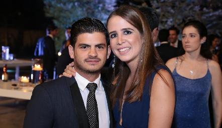 Oscar Cabrera y Montse Anaya.