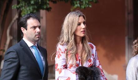 Boda de Chema Gómez y Ana Pao Rangel.