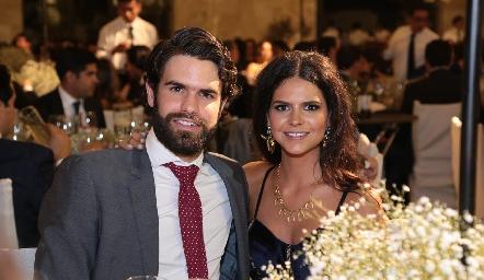 Pato Maurer y Ana Pau de la Fuente.
