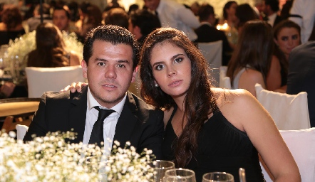 Jorge Torres y Daniela de la Fuente.