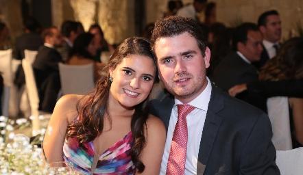María Dolores Gómez y Jorge Mendizábal.