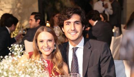 Renata Gazde y Alejandro Nasta.