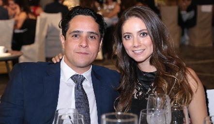 Nacho Cifuentes y Nayeli Maya.